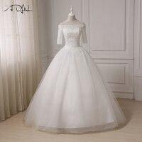 2017 White Ivory Beach Wedding Dresses Vestido Novia Chiffon Plus Size Wedding Gowns Robe De Mariage