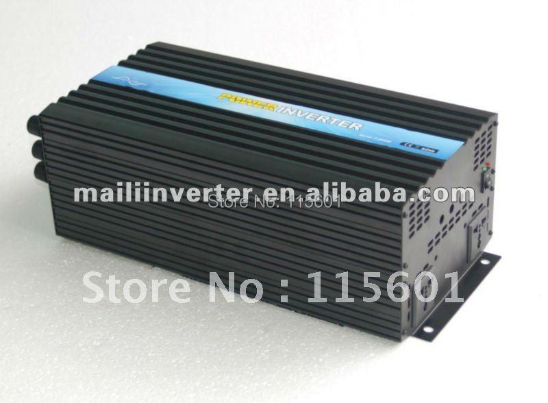 Solar Wind Emergy System Dc24 To Ac 220v 4000w 4kw Pure Sine Wave Solar Inverter Power