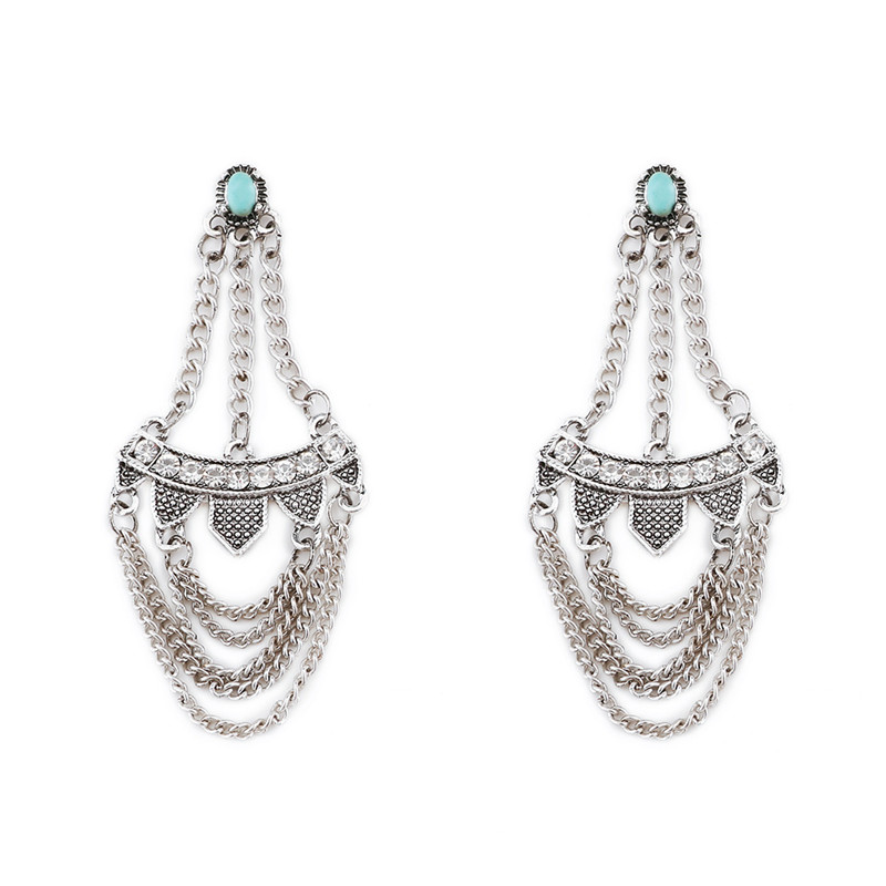Online Get Cheap Geometric Chandelier Stones Earrings -Aliexpress ...