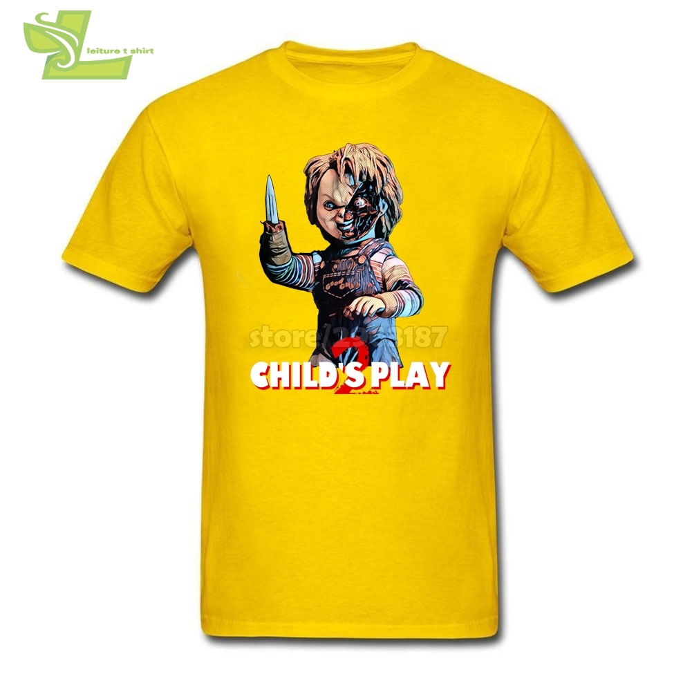 461735c7 Child's Play Seed of Chucky White T Shirt Adult Natural Cotton Short Sleeve T  Shirt Brand T Shirt Dress Plus Size-in T-Shirts from Men's Clothing on ...
