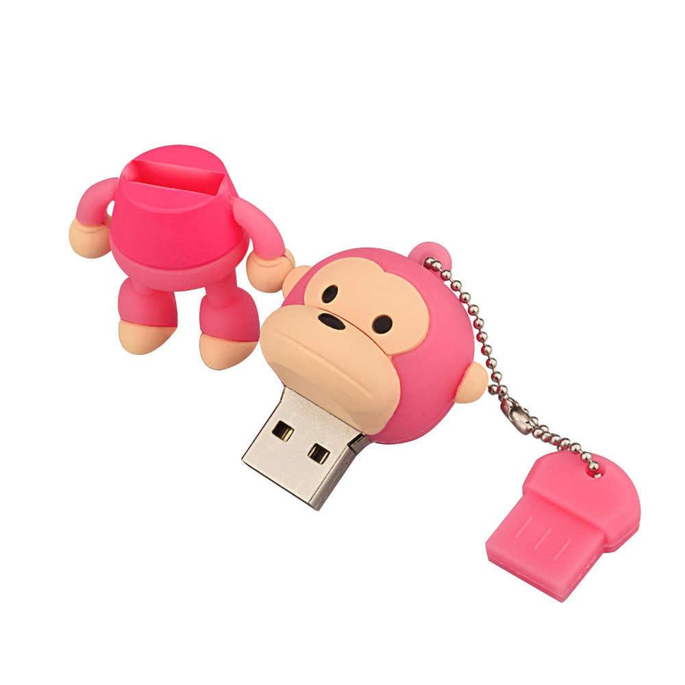 USB Flash Memory Drive stick//Pen//Thumb 8 GB Monkey
