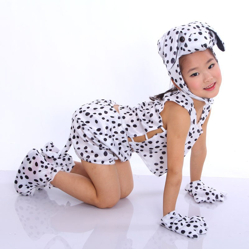 Children Kids Baby Cartoon Animal Dalmatian Dog Costume Cosplay Clothing Childrenu0027s Day Halloween Costumes Jumpsuit-in Boys Costumes from Novelty u0026 Special ...  sc 1 st  AliExpress.com & Children Kids Baby Cartoon Animal Dalmatian Dog Costume Cosplay ...