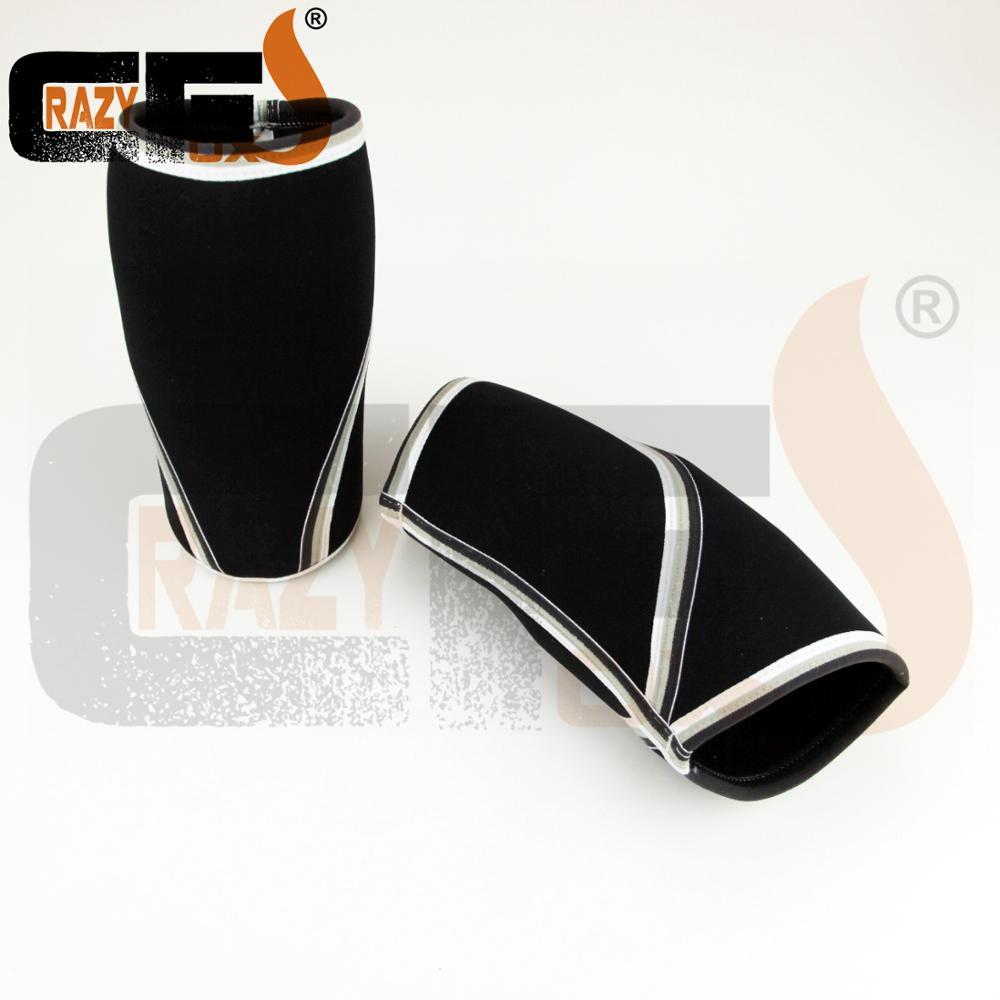 7mm rodillera de neopreno/7mm encargo compresión/rodilla manga para sentadillas