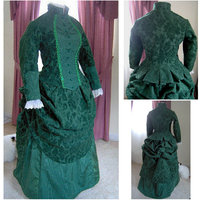 On sale R-171 Victorian Gothic/Civil War Southern Belle Ball Gown Dress Halloween dresses