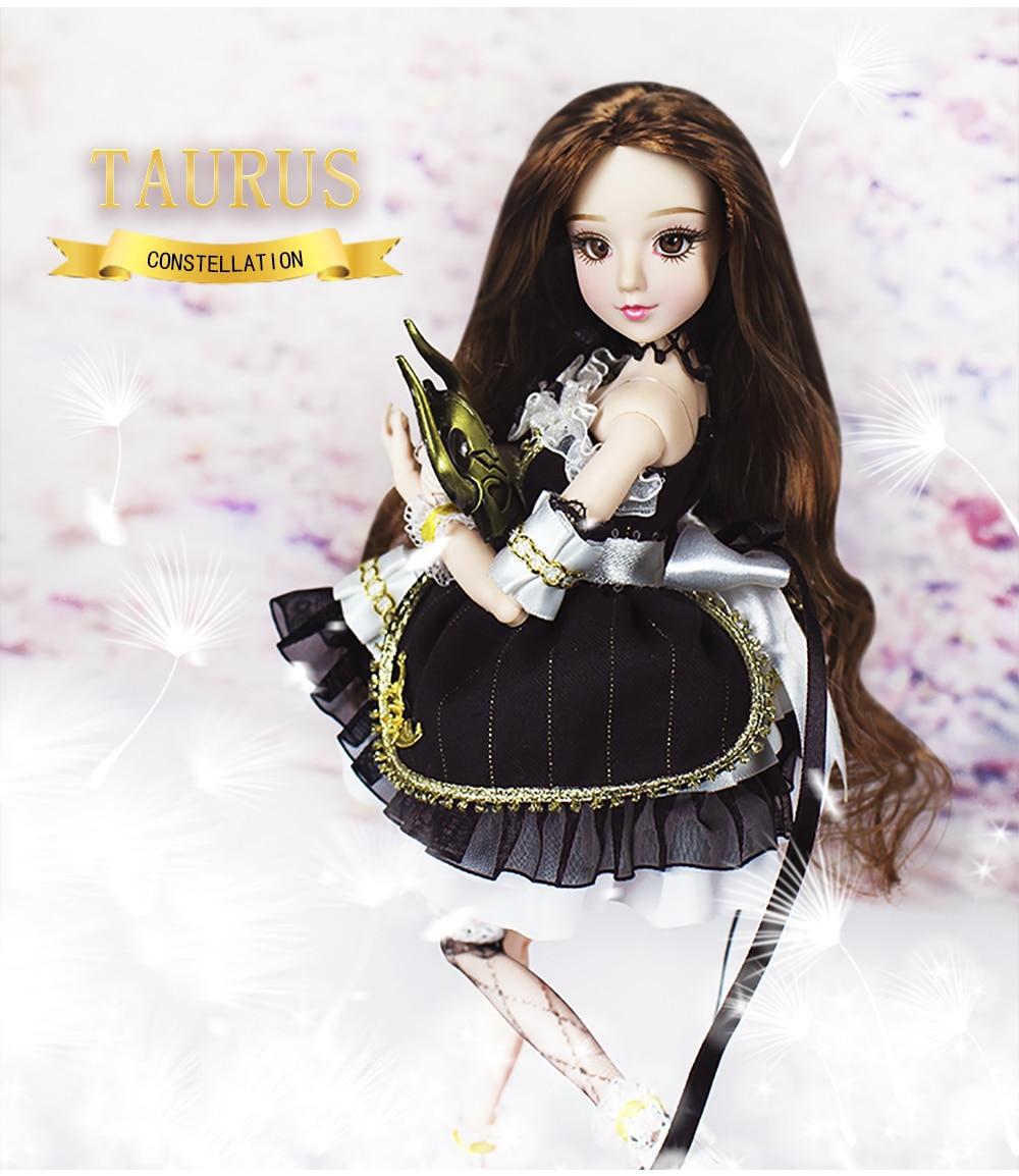 MMGirl 12 星座牡牛座よう BJD 人形 1/6 30 センチメートル高新セットのおもちゃギフト  グループ上の おもちゃ & ホビー からの 人形 の中 3