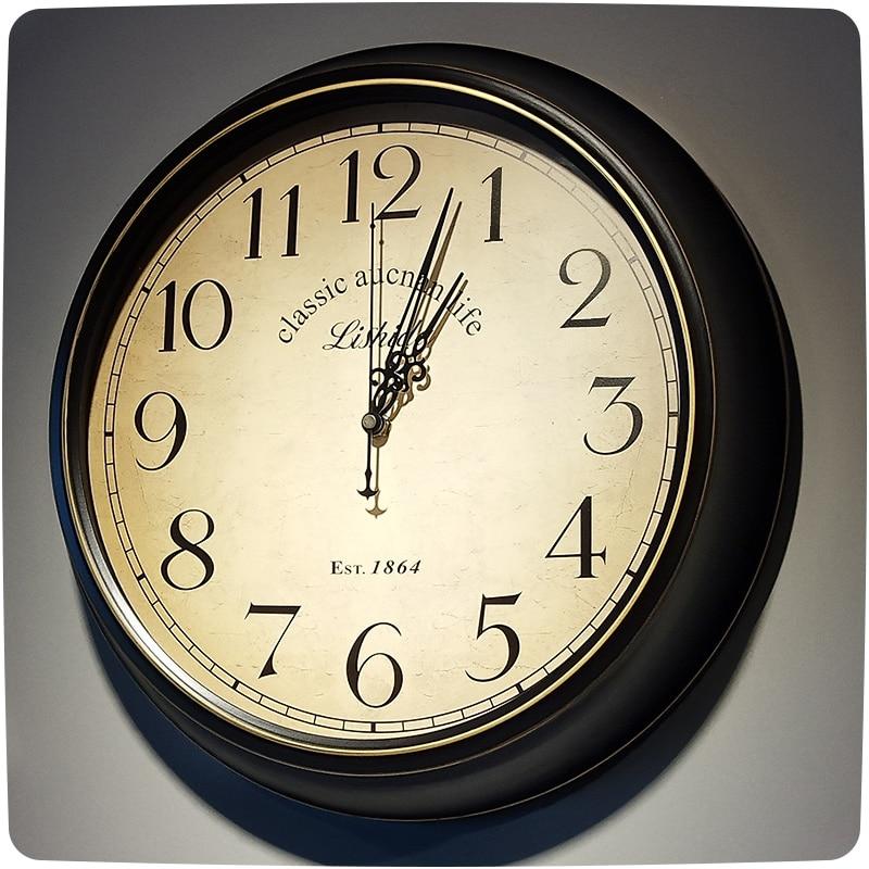Europäische Rom Arabische Zahl Wanduhr 12'inch Heimtextilien Wanduhren Quarz Kunststoff Reloj De Pared Modernes Design-in Wanduhren aus Heim und Garten bei  Gruppe 2