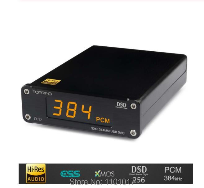 TOPPING D10 MINI USB DAC HIFI EXQUIS CSS XMOS XU208 ES9018K2M OPA2134 Audio Amplifier Decoder