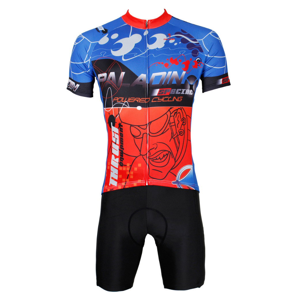 cycling jerseys Mens Polyester top Sleeve Cycling Jersey Polyester Breathable Bicycle Jersey Red Cycling Clothing Cycling Spri 2016 new men s cycling jerseys top sleeve blue and white waves bicycle shirt white bike top breathable cycling top ilpaladin