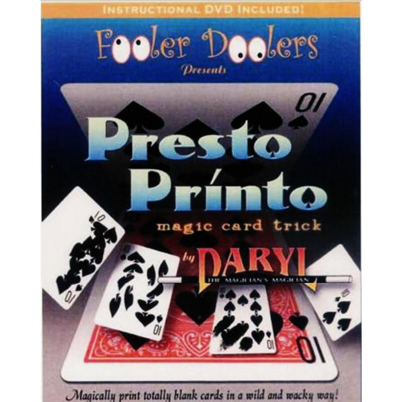 Karty Tisk Magic Tricks Poker Play Card Doprava zdarma Magia Trick - Klasické hračky