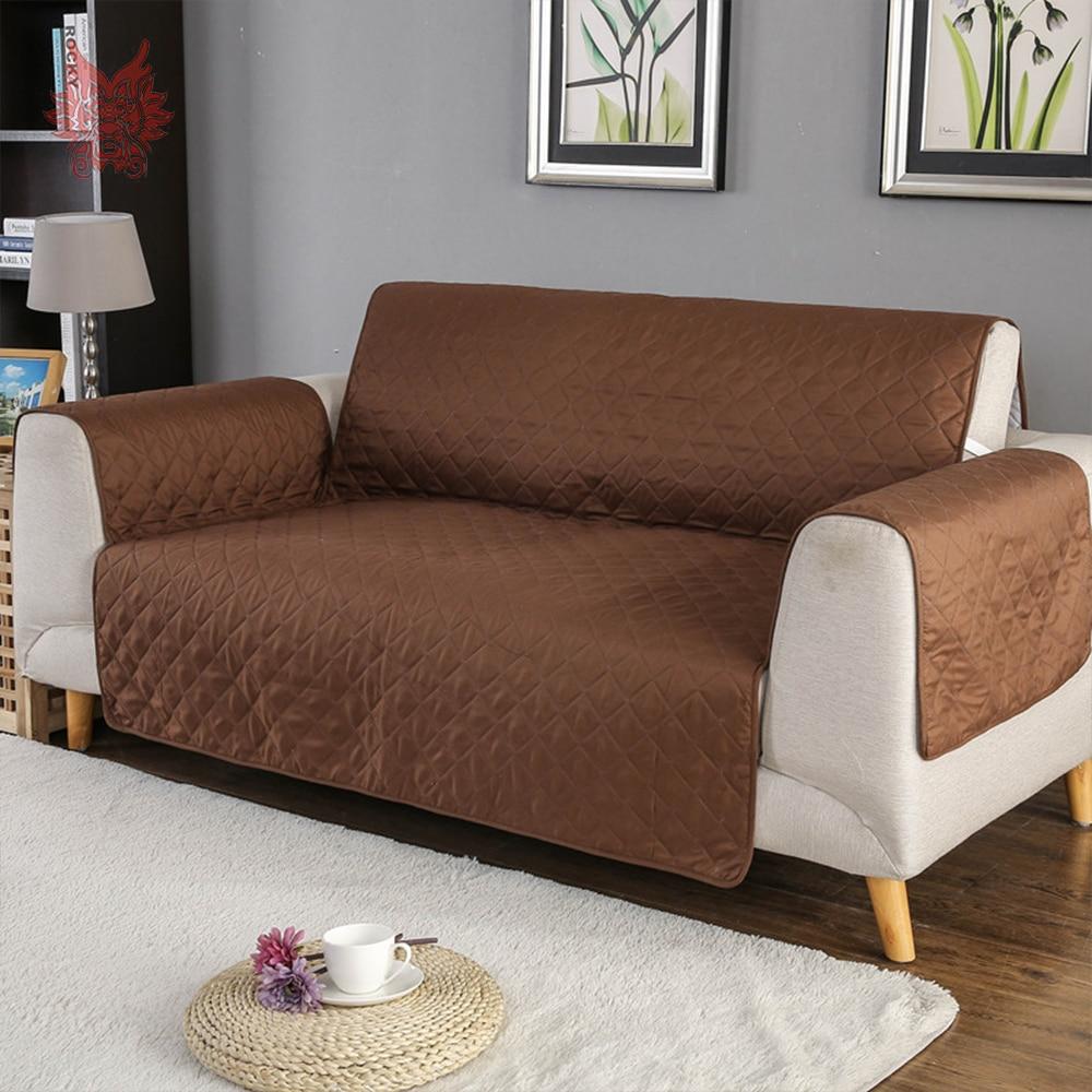 American style black khaki green red plaid qulited Sofa