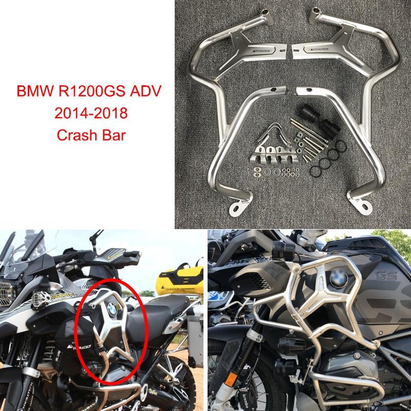 Pour BMW R1200GS AVENTURE 2014 2015 2016 2017 2018 Moto Garde Moteur Crash Bar Protecteur Moto R1200GS ADV Aventure