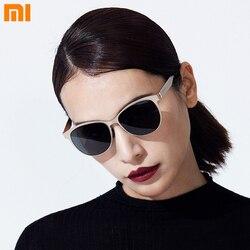 Najnowsze oryginalne okulary przeciwsłoneczne Xiaomi TS klasyczne oczy kota dla kobiet mody tylko 22g