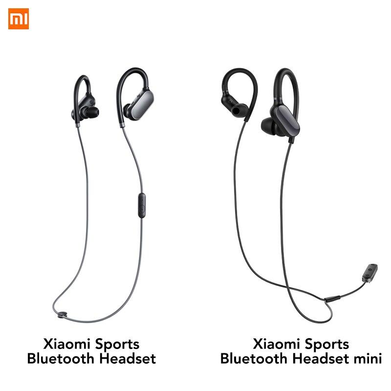 Оригинальные Xiaomi mi Bluetooth наушники mi ni версия Спортивная беспроводная гарнитура IPX4 Водонепроницаемая Bluetooth 4,1 Гарнитура