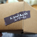 360pcs 2 Colors Handmade Kraft Sticker Label Seal Box Envelope Gift Wrapping Soap Baking Birthday Wedding Christmas Decoration