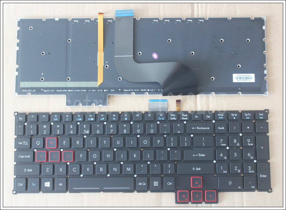 NEW laptop Keyboard for Acer Predator 17 15 G9-791 G9-791G G9-591 G9-591G G9-591R US KEYBOARD цены онлайн