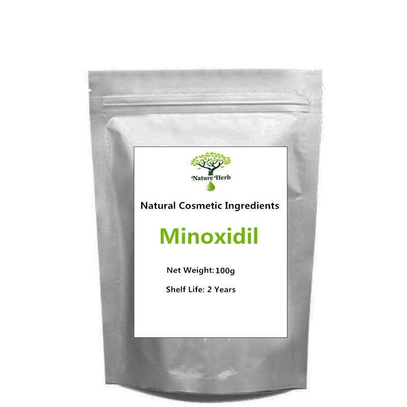 Qualidade do Cabelo Rebrota pó Minoxidil Matérias-primas 10g
