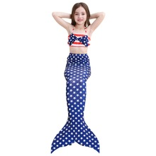 Baby Girls Kid Mermaid Tail Dress Costume Cosplay Swimsuit Cloth Without Monofin