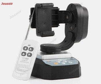 Support De Trépied Pour Smartphone   Inclinaison De Casserole De Télécommande Motorisée Par YT-500 Avec L'adaptateur De Bâti De Trépied Pour La Caméra Extrême De Wifi D'appareil-photo Et Le Smartphone CD50 T03