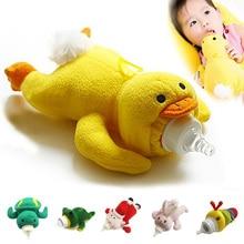 Baby Feeding Milk Bottle Insulation Cover Holder Feeder Thermal Bag Warmer Animal Plush Toy YJS Dropship цена в Москве и Питере