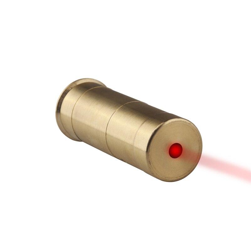 VERY100 Tactical 12 Gauge Red Laser Cartridge Boresighter Sight Waterproof Box