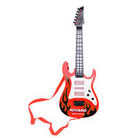 High Quality 4 Strings Music Electric Guitar Kids Musical Instruments Educational Toys For Children As New Year Gifts
