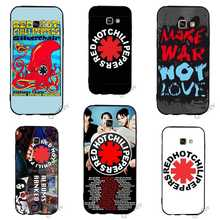 Print Red Hot Chili Peppers Phone Cover for Samsung Galaxy S9 Plus Case A3 A5 A6 S7 Edge S6 S8 Note 8 9 Cases