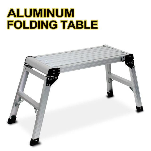 Nueva plataforma de aluminio Drywall Step Up mesa plegable banco de ...