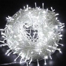 SICCSAEE наружный Рождественский светодиодный светильник s 100 м 20 м 10 м 5 м Luces Decoracion Сказочный светильник для праздника s светильник ing tree гирлянда