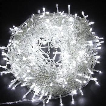 Luces LED de Navidad para exteriores sicsaee, 100 M, 20 M, 10 M, 5 M, Luces de decoración, Luces de hadas, Luces de vacaciones, guirnalda de árbol de iluminación