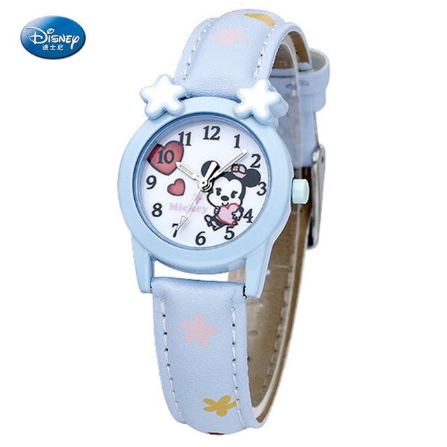 Disney Minnie Mouse  Cartoon Watch Women Watches Kids Quartz Wristwatch Child Boy Clock Girl Gift Relogio Infantil