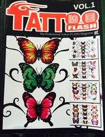 Профессиональный вспышки татуировки журнал книга A4 40 страница эскиз тату Дизайн питания Книга Бесплатная доставка ТБ-144-1