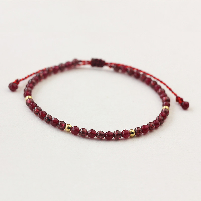 Bracelet Avec Grenats