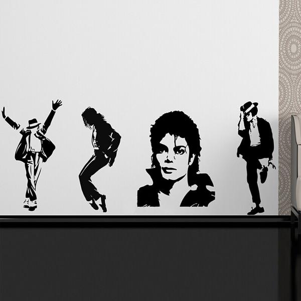 Aliexpress 3d Wallpaper Michael Jackson Thriller Vinyl Wall Sticker Wallpaper