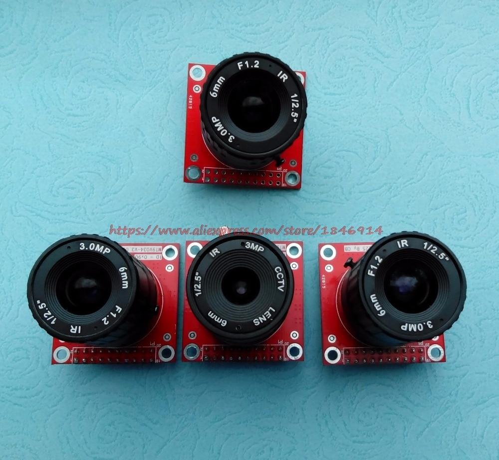 Mt9v032 Mt9v034 Wide Dynamic Industrial CMOS Module Infrared Night Vision Tape Driver Camera