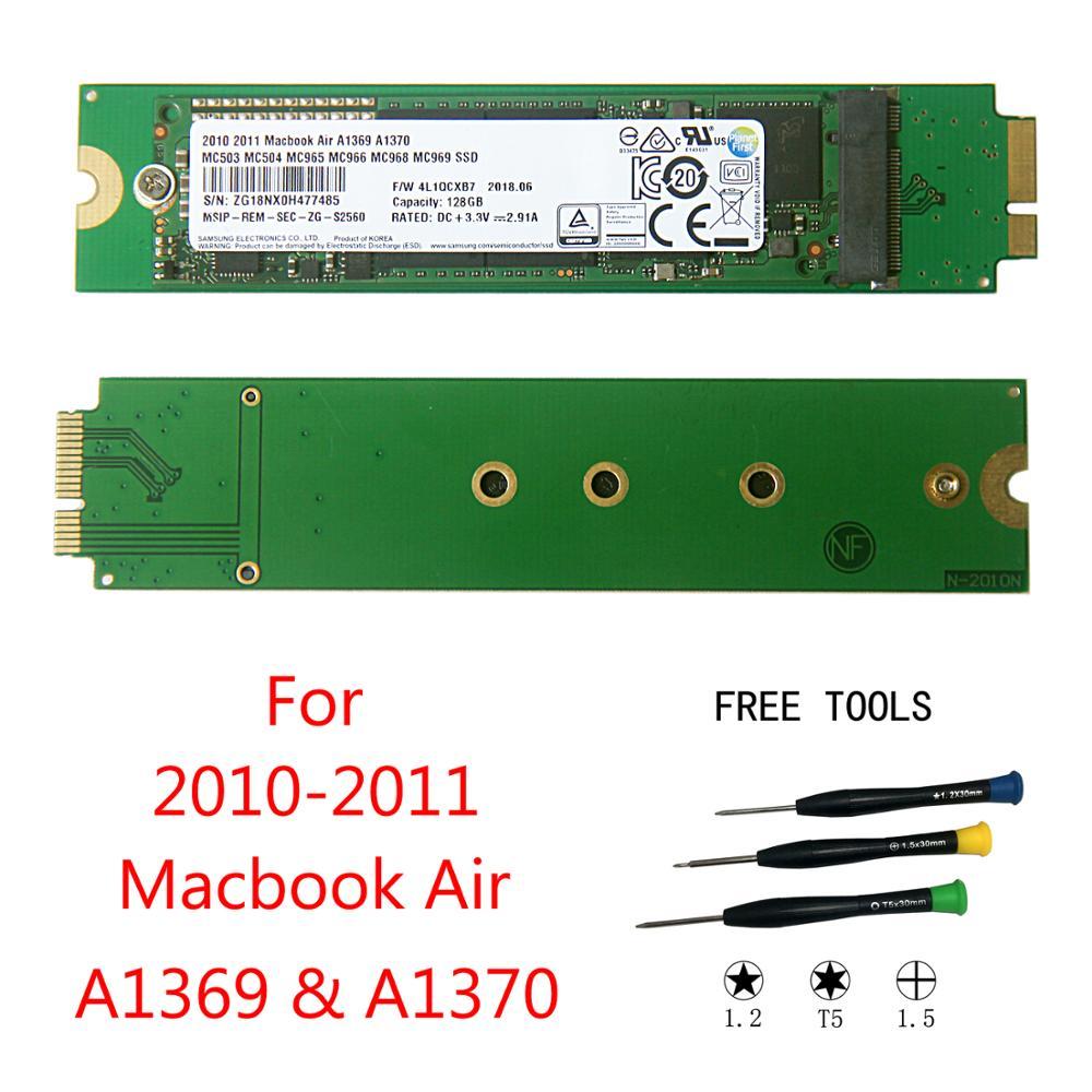 Nouveau 128 GO Pour 2010 2011 Macbook Air A1370 A1369 128G SSD MC503 MC504 MC505 MC 506 MC965 MC966 MC968 MC969 Disque SSD HDD