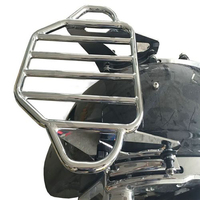 Touring Luggage Rack Sissy Bar Luggage Rack with a 4 Point Docking For Touring FLTR FLHX FLHT Street Glide Road Glide 2009 2018