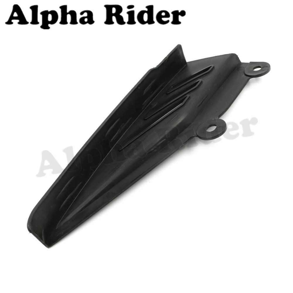 모토 크로스 체인 가드 스프로킷 프레임 실드 커버 머드 가드 방진 펜더 abs for yamaha xg 250 tricker xg250 pit dirt bike