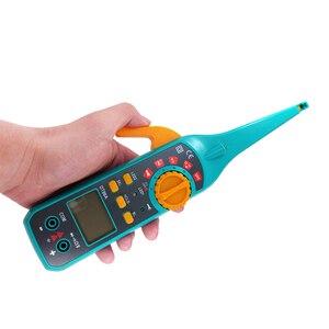 Image 2 - PROTMEX Multi função de Reparo Automotivo Diagnóstico Do Carro Novo Multímetros Digitais Testador de Bateria Do Veículo Com Sonda de Teste