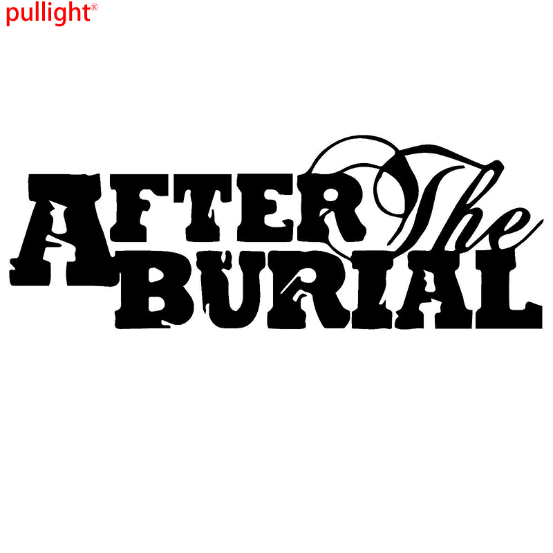 After the Burial band Graphic Die Cut decal sticker Car Truck Boat Window in Car Stickers from Automobiles Motorcycles