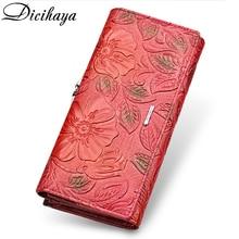 DICIHAYA Exclusive Design Leather Women Wallet Luxury Brand