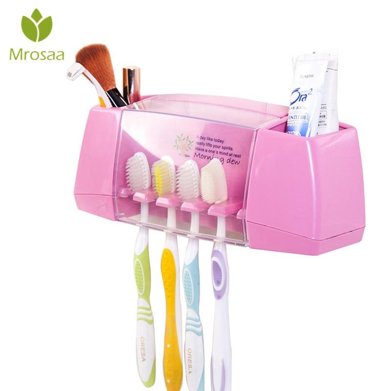 PVC Multifunctional Toothbrush Holder Storage Box Eco ...