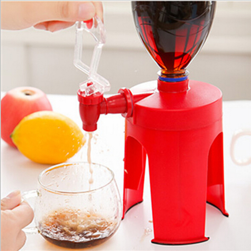 New Creative Red Fizz Soda Saver Coke Cola Drinks Dispenser Bottle Drinking Water Dispense Machine Quoted The Device yj humidifier electric water bottle pump dispenser drinking water bottles suction unit water dispenser kitchen tools