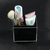 Acrylic Brush Organizer Makeup Organizer Cosmetic Holder Makeup Tools Storage Box Brushes Container
