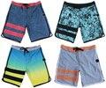FREE SHIPPING 4-Way Stretch Beachshorts Mens Quick Dry Elastane Spandex Boardshorts Bermudas Shorts Board Shorts Casual Shorts
