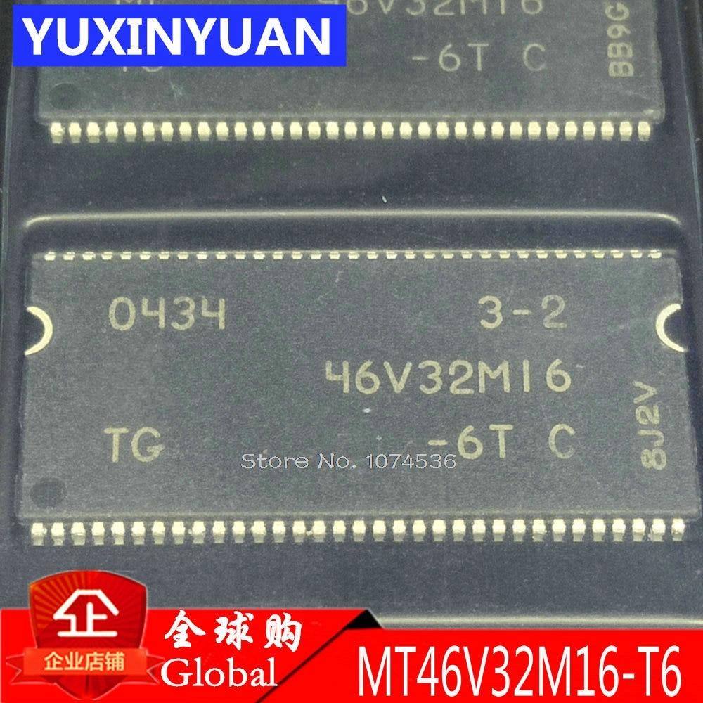5pcs/lot MT46V32M16P-6T: F MT46V32M16 46V32M16-6T MT46V32M16P-6T MT46V32M16-6T 46V32M16 512 MB: X4, X8, X16 DDR SDRAM