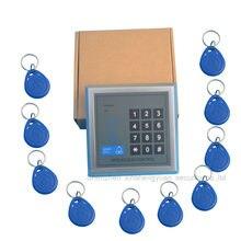 Beveiliging RFID Proximity Entry Deurslot Toegangscontrole Systeem 500 Gebruiker 10 Toetsen