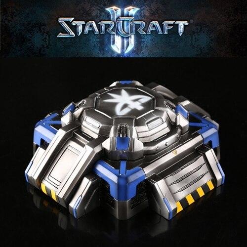 Starcraft Terran Bunker Model Ashtray With Lids Storge Box Gift Resin Ashtrays 1