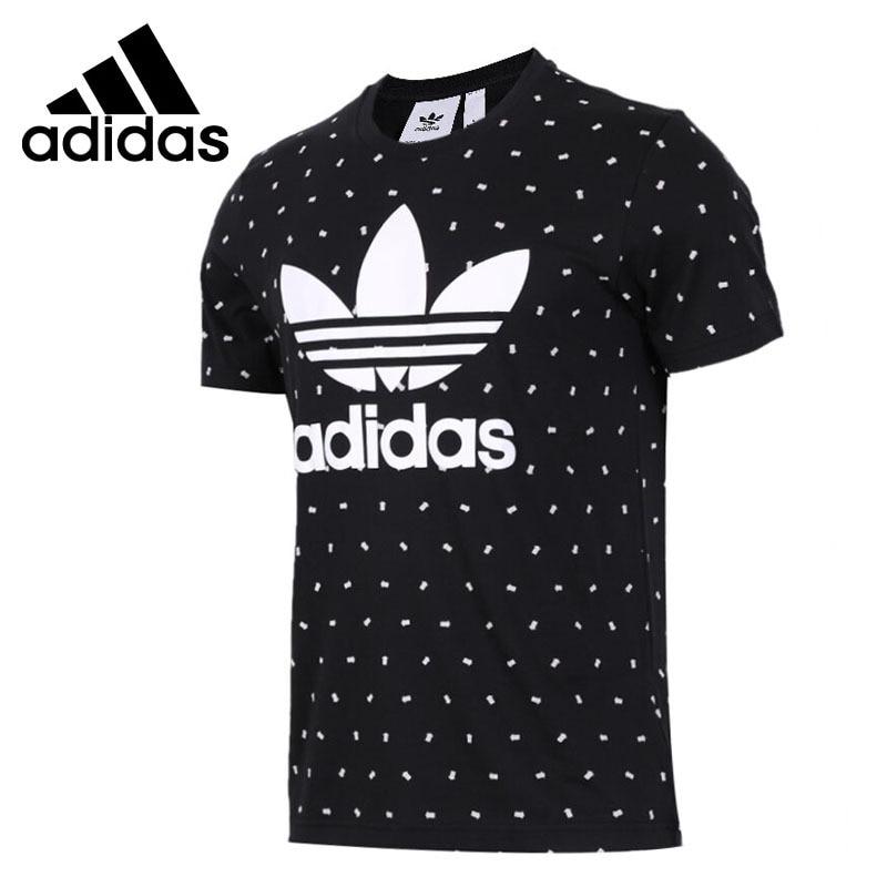 Original New Arrival 2018 Adidas Originals TREFOIL TEE Men's T-shirts short sleeve Sportswear original new arrival 2017 adidas originals men s t shirts short sleeve sportswear