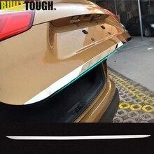 Подходит для Nissan Qashqai хромированная задняя крышка для двери, отделка заднего багажника, молдинг, рамка, наклейка для стайлинга, украшение