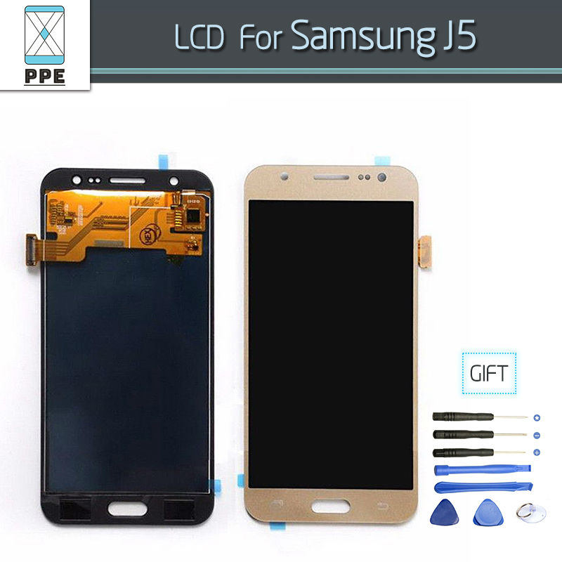 LCD Complete Replacement For Samsung Galaxy J5 2015 LCD Digitizer Touch Screen Display Pantalla J5008 J500 J500F J500M J500Y